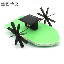 Solar Powered Boat No.3 DIY Model Robot Boat Ship Puzzle Educational Toy Kit Kid