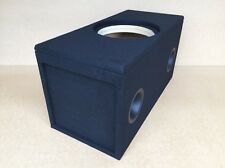 "Custom Ported Sub Box Enclosure for 1 12"" Skar Audio ZVX-12 subwoofer - 34 HZ"