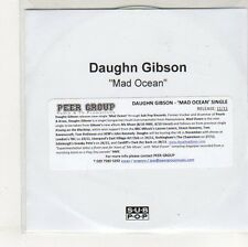 (EO829) Daughn Gibson, Mad Ocean - DJ CD