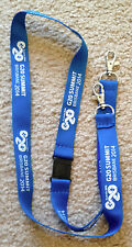 G20 SUMMIT BRISBANE 2014 Blue Delegates Lanyard NEW