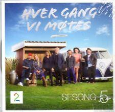 CD Norwegisch Hver Gang Vi Motes Sesong Saison 5, Wenche Wencke Myhre, 2016, NEU