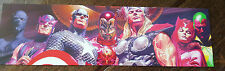 2015 SDCC COMIC CON MARVEL AVENGERS IRON MAN THOR ALEX ROSS PROMO CARD BOOKMARK