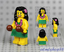 LEGO Series 3 - Hula Dancer 8803 Collectible Minifigure Girl Hawaiian Maracas