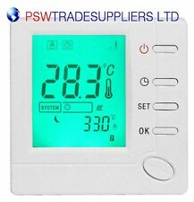 Digital Room 7-day programmable thermostat designed for valve actuator