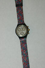 SWATCH AWARD SCB108 CHronograph  Authentic NOS  1992
