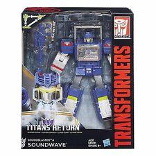 Transformers Générations Retour des Titans Leader Classe SOUNDWAVE Soundblaster