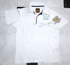 White Polo Shirt LA MARTINA Vintage Sz 8 Years Great Conditions For Kids
