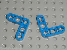 LEGO TECHNIC Blue Beam Liftarm Bent ref 32056 / Set 8421 8435 8265 8432 8444 ...