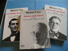 MICHEL CIRY JOURNAL 1956-1990 GRAVEUR COMPOSITEUR ENVOI Signé à MICHEL DEBRE