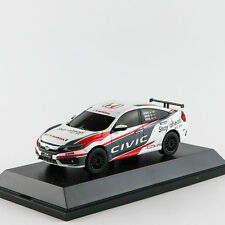 ORIGINAL MODEL,1:43 Honda CIVIC 2016,MK10,Rally Racing car,white