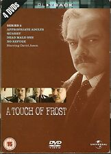 A TOUCH OF FROST - Complete 3rd Series. David Jason. ITV (4xDVD BOX SET 2004)