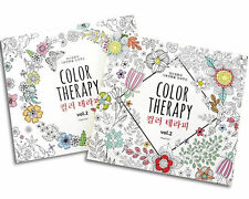 Color Therapy Coloring Book for Adult Relaxation 104 Pages, 1Book of Anti Stress