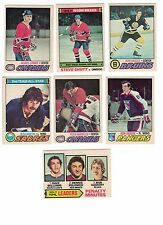1977-78 Lot of OPC NHL Hockey Cards - pick only the cards you need - NM+