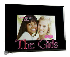 The Girls Photo Frame Pink Mirror Friend Picture Frame Gift For The Girls FG523