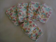 The Honest Company Butterflies Print Diapers, New Born N - 10 Pounds, Set Of 5