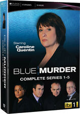 Blue Murder . Complete Series 1-5 . The Complete Season 1 2 3 4 5 .. 9 DVD . NEU