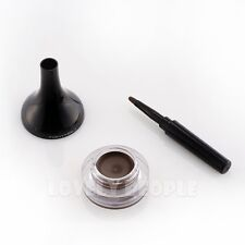 [Tonymoly] Waterproof Back Gel Eyeliner Long Brush 4g - #02 Brown