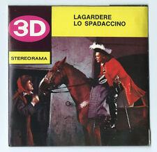 Lagardere The Swordsman Techno Film Stereorama Reels Made in Italy New Old Stock