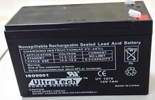 UltraTech 12V 7AH BACKUP BATTERY UT1270 Honeywell Ademco GE DSC Alarm System