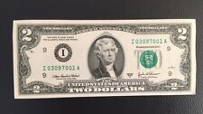 USA 2 DOLLARS 2003 Banknote! UNC, CRISP MINT BILL