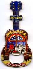 Hard Rock Cafe MELAKA Dutch Square V8 City Guitar Bottle Opener Magnet