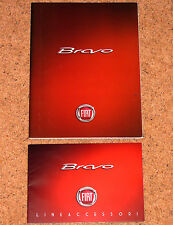 2007 FIAT BRAVO UK Launch Brochure & Bravo Acccessories Brochure