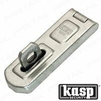 KASP RATED 4 HEAVY DUTY UNIVERSAL HASP & STAPLE 80mm Gate/Shed 230 Series Lock