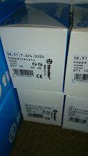 10x Finder Koppel Relais 24V DC 1 Wechsler 6A - 38.51.7.024.0050