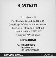 Tête d'impression qy6-0050 pour Canon pixus 900dp i900d i905d ip6100d ip6000d