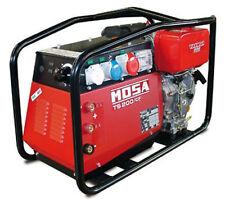 MOSA TS 200 DES/CF YANMAR MOTOR DIESEL SOLDADURA GENERADOR 110V / 240V 4KVA MMA