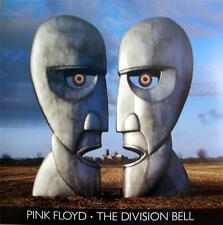 PINK FLOYD ATMOSPHERICALLY RARE DIVISION BELL ORIGINAL CD / LP COVER ART POSTER