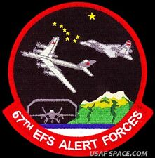 USAF 67th EXPEDITIONARY FIGHTER SQUADRON - ALERT FORCE - ORIGINAL VELCRO PATCH