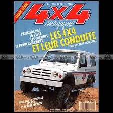 4X4 MAGAZINE HS N°24 ★ GUIDE PRATIQUE : SPECIAL CONDUITE TOUT-TERRAIN ★ 1989