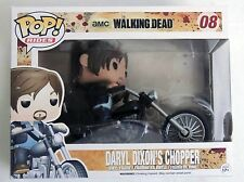 ESL828. Walking Dead DARYL DIXON'S CHOPPER Vinyl Figure #08 By FUNKO (2014)