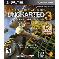 Uncharted 3: Drake's Deception - Game of the Year Edition [PlayStation 3] NEW