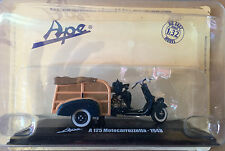 "DIE CAST  "" A 125 MOTOCARROZZETTA - 1948 "" APE COLLECTION SCALA 1/32"