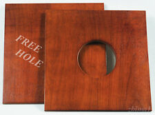 """1 Lens Board 9""""x 9"""" for CENTURY or ANTHONY 8""""x10"""" Cameras - Ply Birch, free hole"""