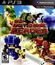 3D Dot Game Heroes (Sony PlayStation 3, 2010) ACCEPTABLE