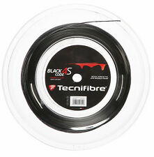 TECNIFIBRE BLACK CODE 4S 17 / 1,25 mm Tennis stringa 200m Reel-Nero