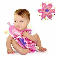 *UK Seller* Baby Taggy Comforter Security Blanket  Pink Flower Taggie