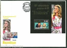 """MOZAMBIQUE 2014 """"TV BEWITCHED 50TH AIRING ANNIVERSARY"""" SOUVENIR SHEET FDC"""