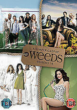WEEDS Series 1-4  DVD Box Set Complete Seasons 1 2 3 4  NEW & SEALED