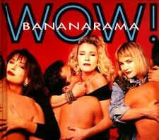 Wow [Deluxe 2CD + DVD Edition] [Digipak] by Bananarama (CD, Oct-2013, 3...