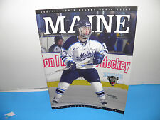 NCAA University of Maine Blackbears Hockey 2003-04 Media Guide