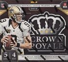 2014 Panini Crown Royale Football Retail Box