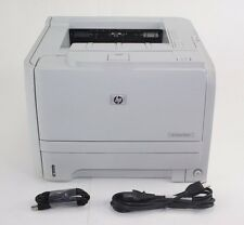 HP LaserJet P2035 Laser Printer. With USB cord & power cord.