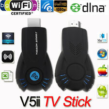 1080P V5II EZCast Miracast HDMI Dongle Stick Wireless Push Movie from PC to TV