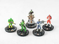Heroclix Captain America LE Nick Fury Madame Hydra Bob Agent No Cards