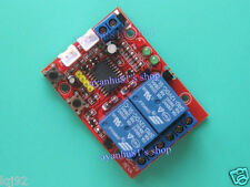 DC12V 2-Way Self-locking / Latching Relay Touch Bistable Switch Module 2CH Board