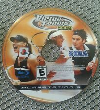 Virtua Tennis 2009 (Sony Playstation 3, 2009)Game Disc Only